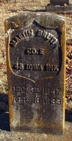 "BRUTON, MARTIN LUTHER ""MARLIN"" VETERAN CW - Barry County, Missouri   MARTIN LUTHER ""MARLIN"" VETERAN CW BRUTON - Missouri Gravestone Photos"