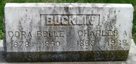 BUCKLIN, CHARLES ALBERT CROUCH - Barry County, Missouri | CHARLES ALBERT CROUCH BUCKLIN - Missouri Gravestone Photos