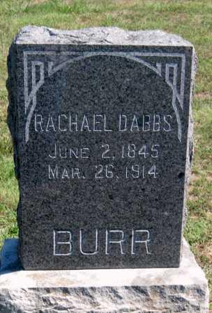 DABBS BURR, RACHEL - Barry County, Missouri | RACHEL DABBS BURR - Missouri Gravestone Photos