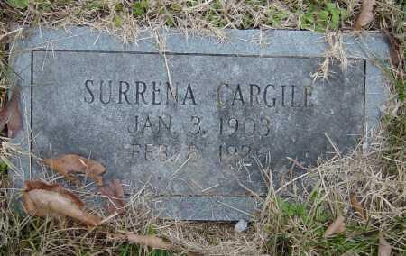 CARGILE, SURRENA - Barry County, Missouri | SURRENA CARGILE - Missouri Gravestone Photos