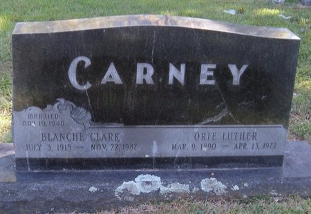 CARNEY, ORIE LUTHER - Barry County, Missouri | ORIE LUTHER CARNEY - Missouri Gravestone Photos