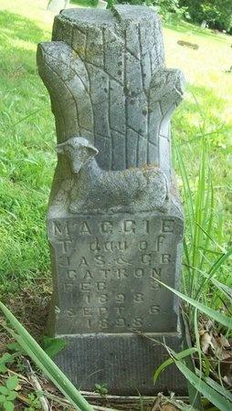 CATRON, MAGGIE T. - Barry County, Missouri | MAGGIE T. CATRON - Missouri Gravestone Photos