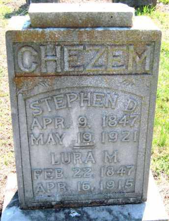 CHEZEM, LURA M - Barry County, Missouri | LURA M CHEZEM - Missouri Gravestone Photos