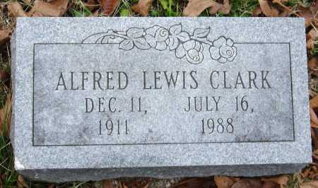 CLARK, ALFRED LEWIS - Barry County, Missouri | ALFRED LEWIS CLARK - Missouri Gravestone Photos