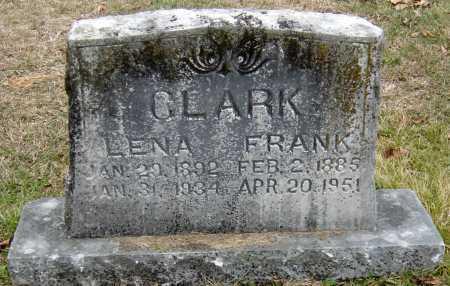 ALEXANDER CLARK, LENA MAY - Barry County, Missouri | LENA MAY ALEXANDER CLARK - Missouri Gravestone Photos
