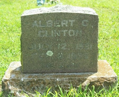 CLINTON, ALBEERT C. - Barry County, Missouri | ALBEERT C. CLINTON - Missouri Gravestone Photos