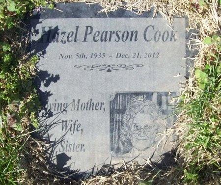 COOK, HAZEL MAXINE - Barry County, Missouri | HAZEL MAXINE COOK - Missouri Gravestone Photos