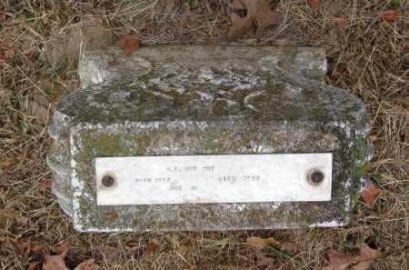 "COX, W. E. ""BUD"" - Barry County, Missouri   W. E. ""BUD"" COX - Missouri Gravestone Photos"