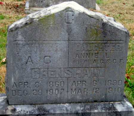 CRENSHAW, A G - Barry County, Missouri | A G CRENSHAW - Missouri Gravestone Photos