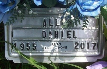 DANIEL, ALLEN GILBERT - Barry County, Missouri   ALLEN GILBERT DANIEL - Missouri Gravestone Photos
