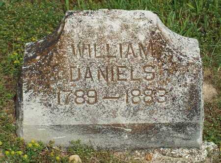 DANIELS, WILLIAM - Barry County, Missouri   WILLIAM DANIELS - Missouri Gravestone Photos