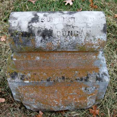 DUNCAN, CURTIS - Barry County, Missouri | CURTIS DUNCAN - Missouri Gravestone Photos