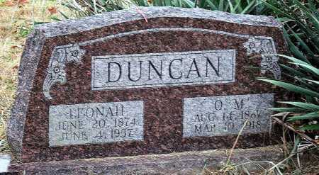 DUNCAN, LEONAH - Barry County, Missouri | LEONAH DUNCAN - Missouri Gravestone Photos