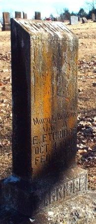 ETHRIDGE, MARY L - Barry County, Missouri | MARY L ETHRIDGE - Missouri Gravestone Photos