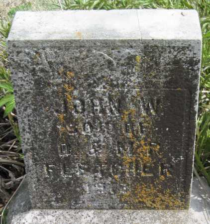 FLETCHER, JOHN W - Barry County, Missouri | JOHN W FLETCHER - Missouri Gravestone Photos