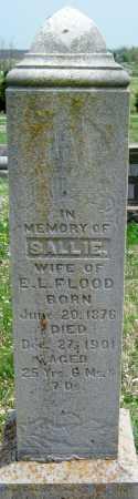 FLOOD, SALLIE - Barry County, Missouri | SALLIE FLOOD - Missouri Gravestone Photos