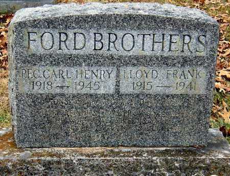 FORD, LOYD FRANK - Barry County, Missouri   LOYD FRANK FORD - Missouri Gravestone Photos
