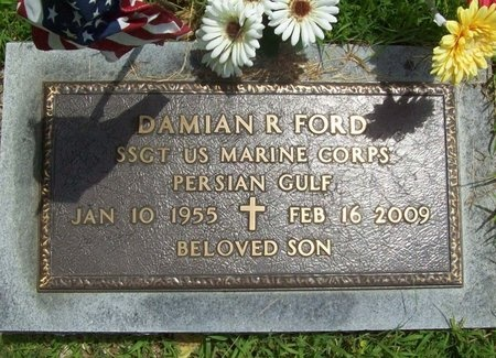 FORD, DAMIAN R (VETERAN PG) - Barry County, Missouri | DAMIAN R (VETERAN PG) FORD - Missouri Gravestone Photos