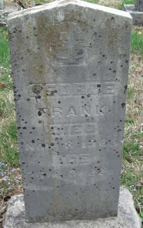 FRANK, GEORGE - Barry County, Missouri | GEORGE FRANK - Missouri Gravestone Photos