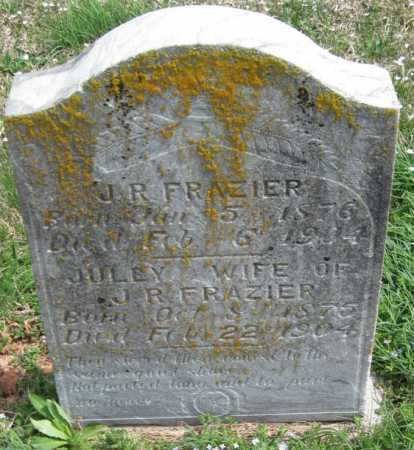 FRAZIER, J R - Barry County, Missouri | J R FRAZIER - Missouri Gravestone Photos
