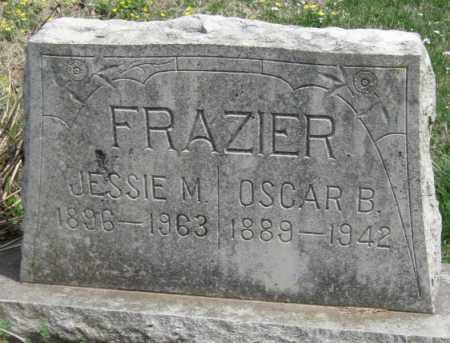 FRAZIER, JESSIE M - Barry County, Missouri | JESSIE M FRAZIER - Missouri Gravestone Photos