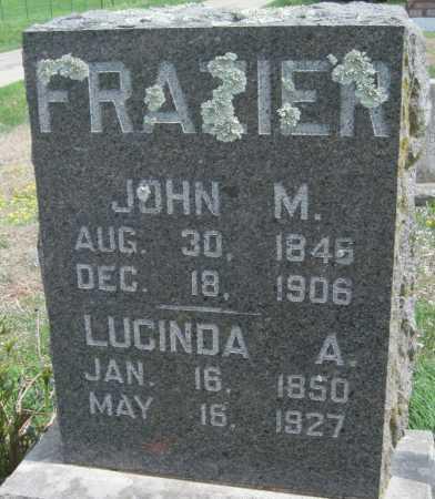 FRAZIER, JOHN M - Barry County, Missouri | JOHN M FRAZIER - Missouri Gravestone Photos
