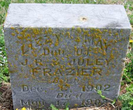 FRAZIER, LIZZY MAY - Barry County, Missouri   LIZZY MAY FRAZIER - Missouri Gravestone Photos