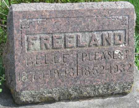 HOBSON FREELAND, MARTHA BELLE - Barry County, Missouri | MARTHA BELLE HOBSON FREELAND - Missouri Gravestone Photos