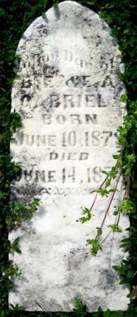 GABRIEL, INFANT DAUGHTER - Barry County, Missouri | INFANT DAUGHTER GABRIEL - Missouri Gravestone Photos