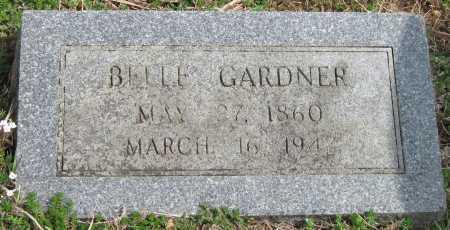 GARDNER, BELLE - Barry County, Missouri | BELLE GARDNER - Missouri Gravestone Photos