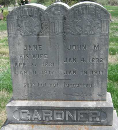 GARDNER, JANE - Barry County, Missouri | JANE GARDNER - Missouri Gravestone Photos