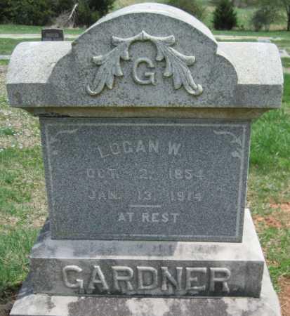 GARDNER, LOGAN W - Barry County, Missouri | LOGAN W GARDNER - Missouri Gravestone Photos