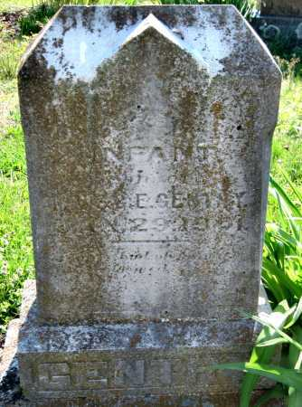 GENTRY, INFANT SON - Barry County, Missouri | INFANT SON GENTRY - Missouri Gravestone Photos