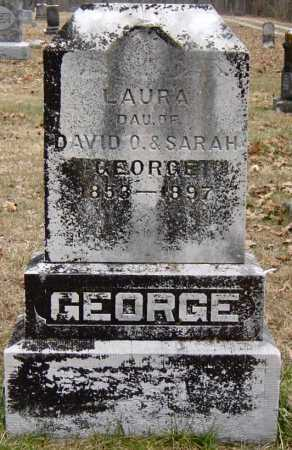 GEORGE, LAURA GERTRUDE - Barry County, Missouri | LAURA GERTRUDE GEORGE - Missouri Gravestone Photos