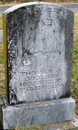 GOODWIN, THOMAS J - Barry County, Missouri | THOMAS J GOODWIN - Missouri Gravestone Photos