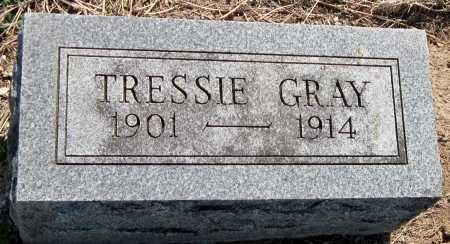 GRAY, TRESSIE - Barry County, Missouri | TRESSIE GRAY - Missouri Gravestone Photos