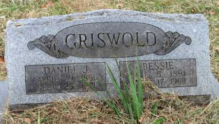 DUNCAN GRISWOLD, BESSIE - Barry County, Missouri | BESSIE DUNCAN GRISWOLD - Missouri Gravestone Photos