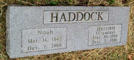 CRUMLEY HADDOCK, HARRIETT ISABEL - Barry County, Missouri | HARRIETT ISABEL CRUMLEY HADDOCK - Missouri Gravestone Photos