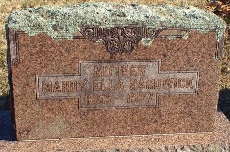 "HARDWICK, AMANDA ELLA ""MANDY"" - Barry County, Missouri | AMANDA ELLA ""MANDY"" HARDWICK - Missouri Gravestone Photos"