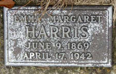 HENDERSON HARRIS, EMMA MARGARET - Barry County, Missouri | EMMA MARGARET HENDERSON HARRIS - Missouri Gravestone Photos