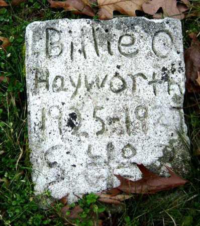 HAYWORTH, BILLIE O - Barry County, Missouri | BILLIE O HAYWORTH - Missouri Gravestone Photos