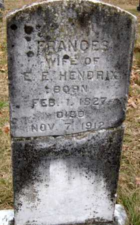 HENDRIX, FRANCES - Barry County, Missouri | FRANCES HENDRIX - Missouri Gravestone Photos