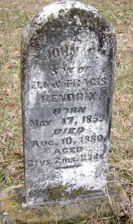 HENDRIX, JOHN B - Barry County, Missouri | JOHN B HENDRIX - Missouri Gravestone Photos
