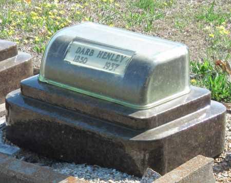 HENLEY JR, DARB - Barry County, Missouri   DARB HENLEY JR - Missouri Gravestone Photos