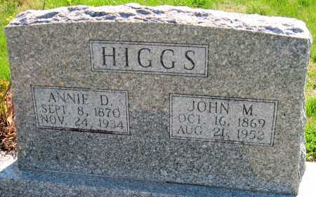 HIGGS, JOHN MONROE - Barry County, Missouri | JOHN MONROE HIGGS - Missouri Gravestone Photos