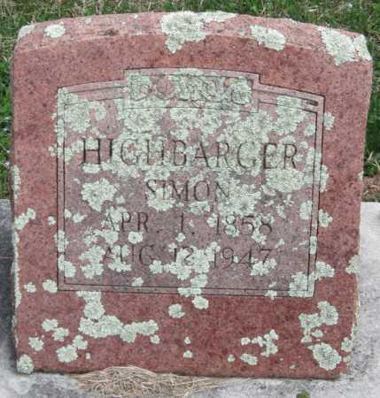 HIGHBARGER, SIMON PETER - Barry County, Missouri | SIMON PETER HIGHBARGER - Missouri Gravestone Photos