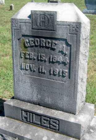 HILES, GEORGE A - Barry County, Missouri | GEORGE A HILES - Missouri Gravestone Photos