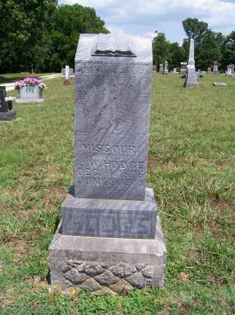 HODGE, MISSOURI - Barry County, Missouri | MISSOURI HODGE - Missouri Gravestone Photos
