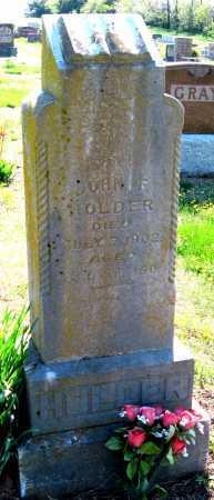 HOLDER, JOHN F - Barry County, Missouri | JOHN F HOLDER - Missouri Gravestone Photos