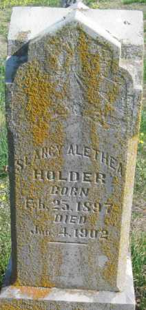 HOLDER, SEARCY ALETHEA - Barry County, Missouri | SEARCY ALETHEA HOLDER - Missouri Gravestone Photos